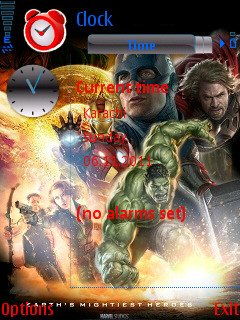 the avengers java game 240x320