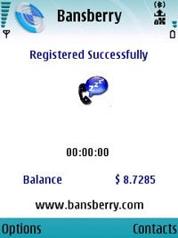 BansBerry Mobile Dialer