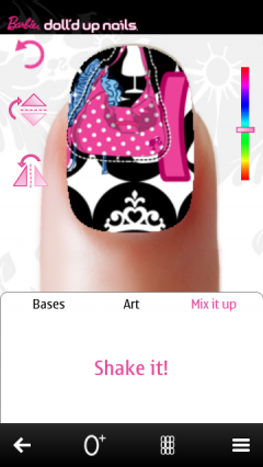 Barbie Doll'd Up Nails