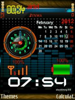 Battery And Clock