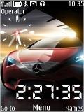 Benz Clock