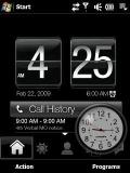 black nokia clock