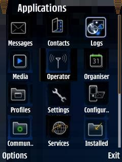Blackberry Icons