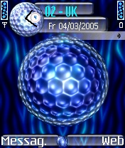 Blue Bauball