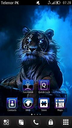 Blue King By Sherzam