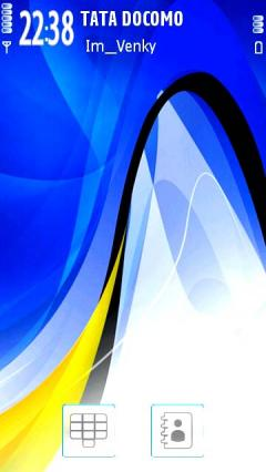 Blue Nokia Abstract
