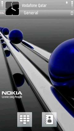 Blue Nokia