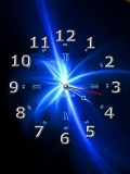 blue sweet clock