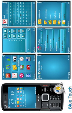 Blue Touch Theme