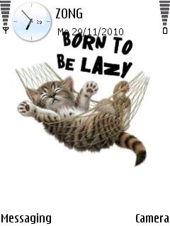 Born To Be Lazy