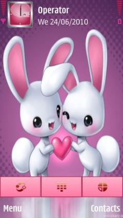 Bunnies-inlove