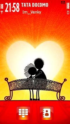 Cartoon Couple Love