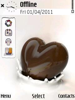 Chochlate Heart