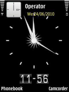 Clock-animated