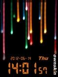 Color Rain Clock