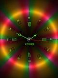 colorful sweet na clock