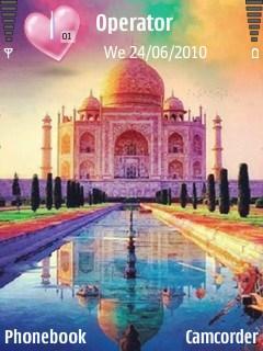 Colourful-Taj-Mahal