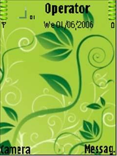 Cool Green Theme