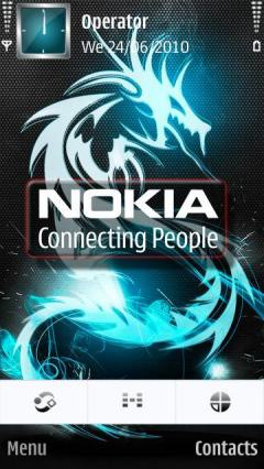 Cool Nokia Dragon
