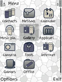 Crazzy White Icons