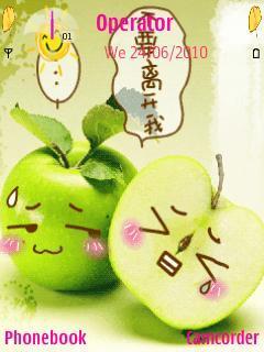 Cute Apple Love
