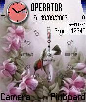 Cute Bird Clock