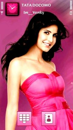 Cute Katrina In Pink