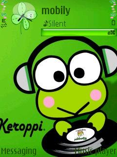 Cute Keroppi for Nokia 6220 Free Download in Cartoons Tag