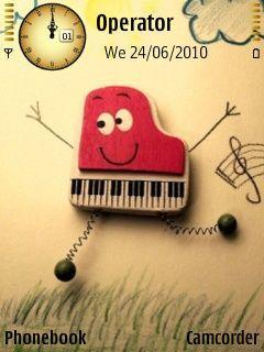 Cute Music W Icons