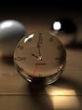 cyristal clock