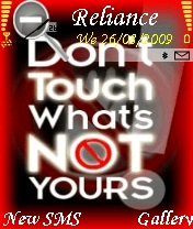 Dont Touch