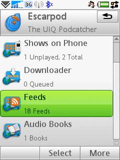 Symbian Podcatcher