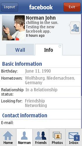 Facebook for Nokia 5230 / 5232 / 5233 Nuron Free Download