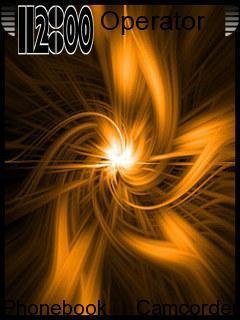 Fire Star Abstract