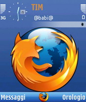 Black firefox Theme