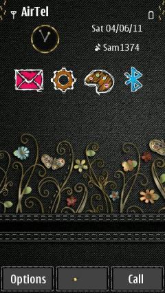 Floral Denim