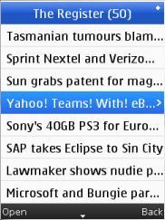Unyverse RSS News Reader