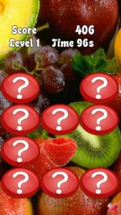 Memotry Fruits