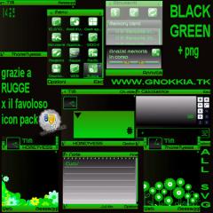 Black Green Theme