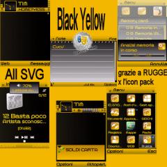 Black Yellow Theme