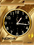 GOLD clock DSO615