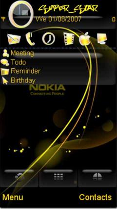Gold Nokia