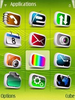 Green 5d Icons