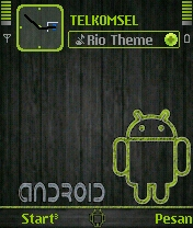 Green Android Wood