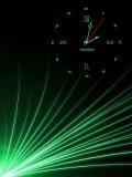 green clock.....