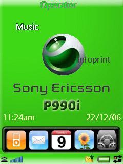 Green Theme P990i
