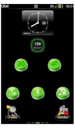 Green Toggle Widget