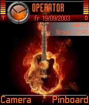 Guitar Is On Fire