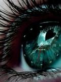 heart inside eye