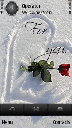 Heart Rose By Zack